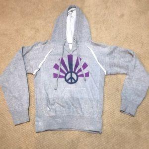 Gray hoodie Size M- Authentic Vintage Ocean Drive
